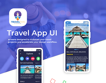 Travel time App UI