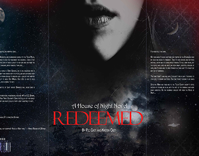 House of Night Book Cover Redesign