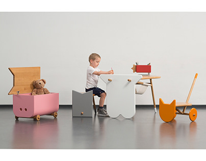 Avlia – Furniture System for Children