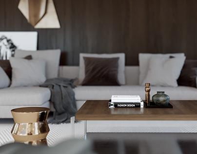 2017 Livingroom milimalist