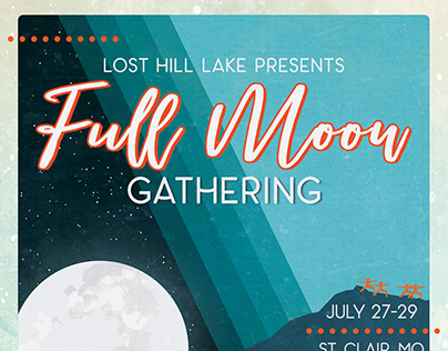 Full Moon Gathering Event Promo Materials
