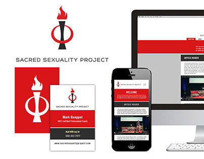 Sacred Sexuality Project - Brand Identity