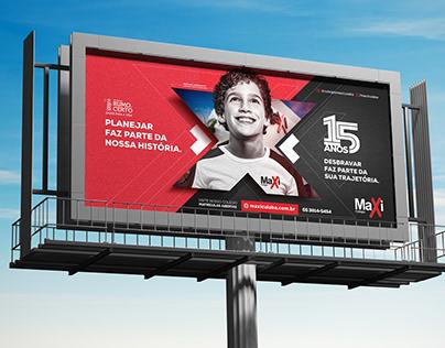15 Anos do Colégio Maxi Cuiabá