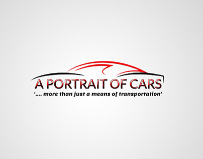 A PORTRAIT OF CARS LOGO
