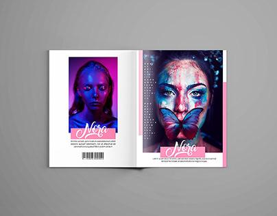 Fashion Magazine InDesign Layout