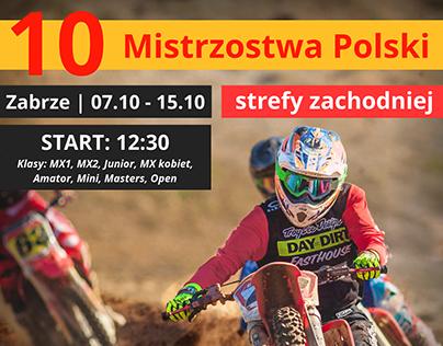 Motocross - handbill