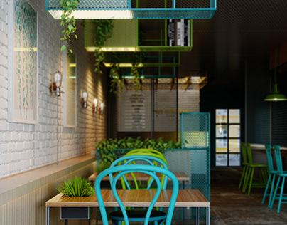 interior design cofeeshop