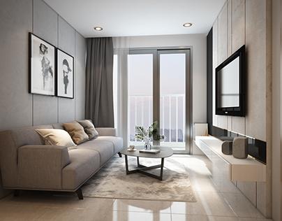 Small apartment_Marina Tower