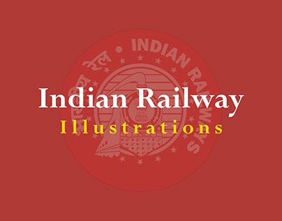 Indian Railway illustrations