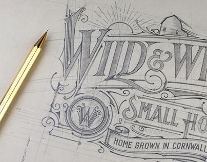 Wild & White   Logo