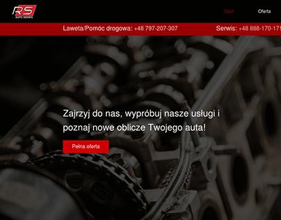Car service | Website