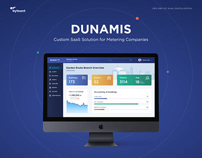 DUNAMIS - Custom SaaS Solution for Metering Companies