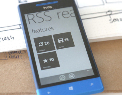 RSS Reader for windows phone