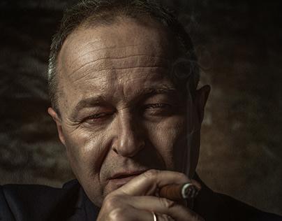 """Don Corleone"" Fine Art Photography"