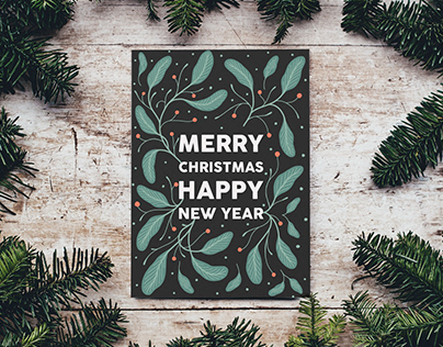 Freebie [ Christmas Cards + Phone Wallpaper ]