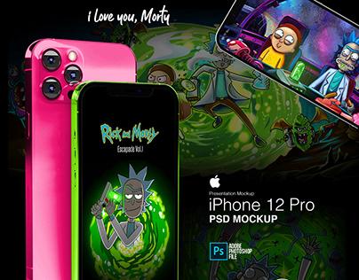 iPhone 12 Pro- Free Mockup