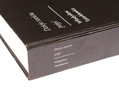 """""""Dzieje sześciu pojęć"""" Projekt graficzny książki"""