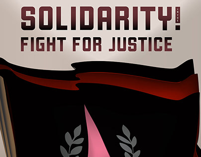 Solidarity! In The Fight for Justice :: Illustration