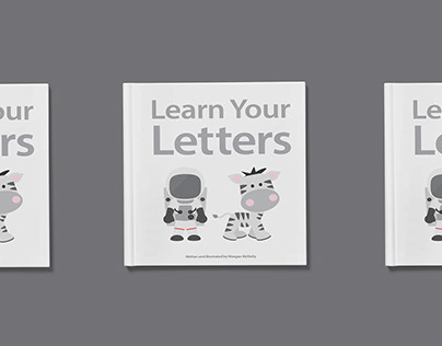Children's Book: Learn Your Letters (2015)