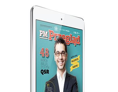 Philip Morris Polska / corporate magazine layout