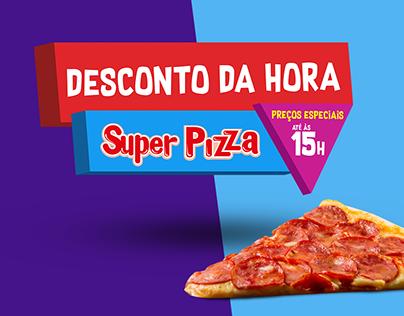 Desconto da Hora | Super Pizza