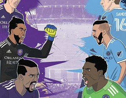 Orlando City SC Game Day Poster