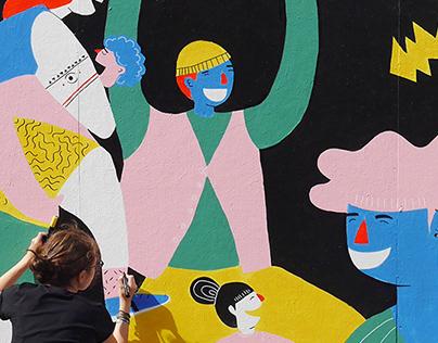 Flow Festival Mural