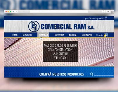 Web Design | Comercial Ram