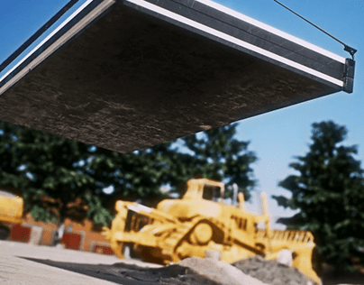 Container House _ Construction Animation