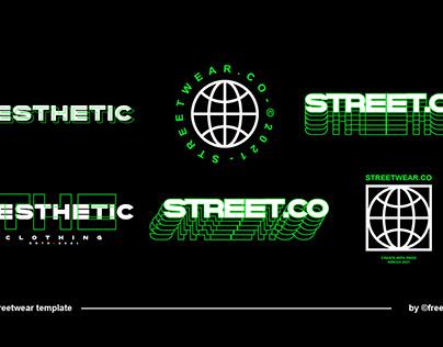 Free Streetwear Text Effect Design Template