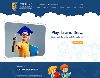 Pre-School Website