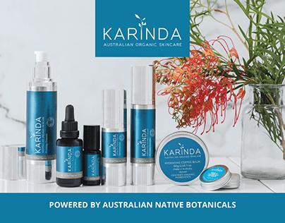 Karinda Organic Skincare Brochure