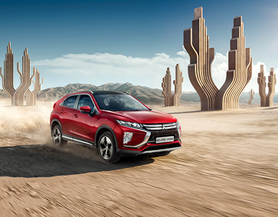 Mitsubishi Eclipse CROSS [Key Visual // 2018]