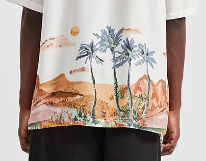 Tropical Print for Pull and Bear