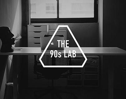 THE 90s LAB 九零設研所 - Visual Identity 視覺識別