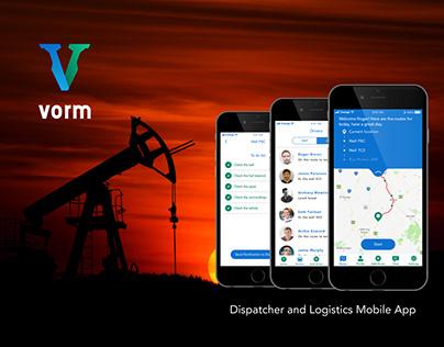 Vorm App UX/UI Design