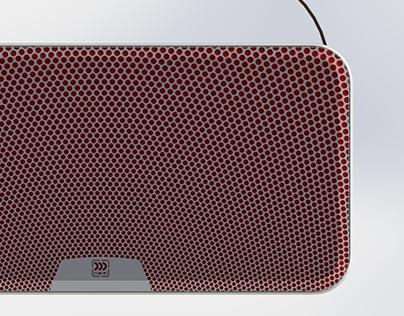 Bluetooth speaker grill design