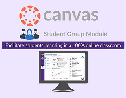 Canvas Student Group Module