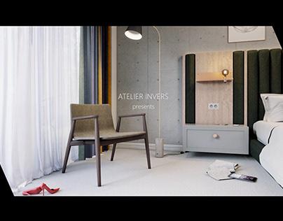 Hotel room - Film animation