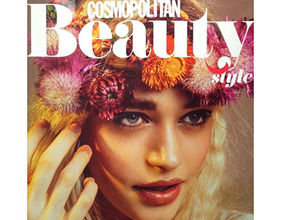 Cosmopolitan Beauty Issue Cover