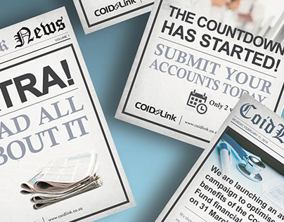 Digital mailer campaign - CoidLink