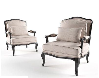 3D Modeling chairs & sofas