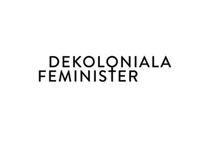 Logotype | Dekoloniala feminister