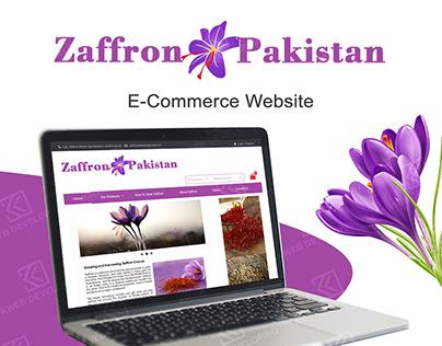 E-Commerce Website Zaffron Pakistan
