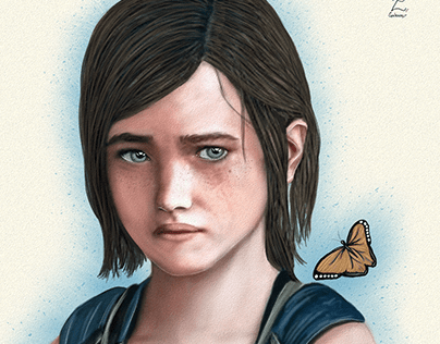 Ellie Last of Us Fanart