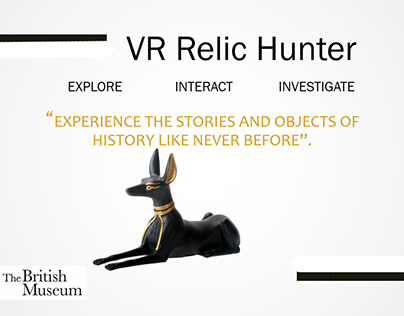 VRRelicHunter: An imersive experience using HTC Vive