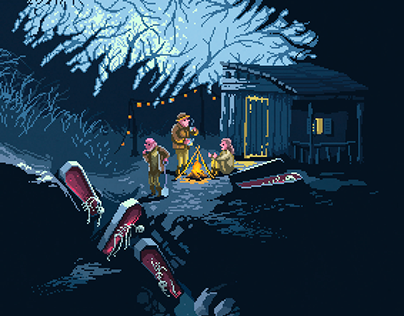 Scene #45: 'The Gravediggers'