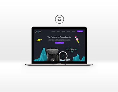 Propel Website Rebrand