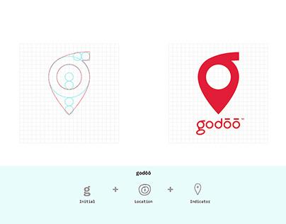 Brand Design+Development: godōō logo and visuals