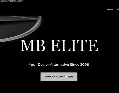MBEliteService.com Website